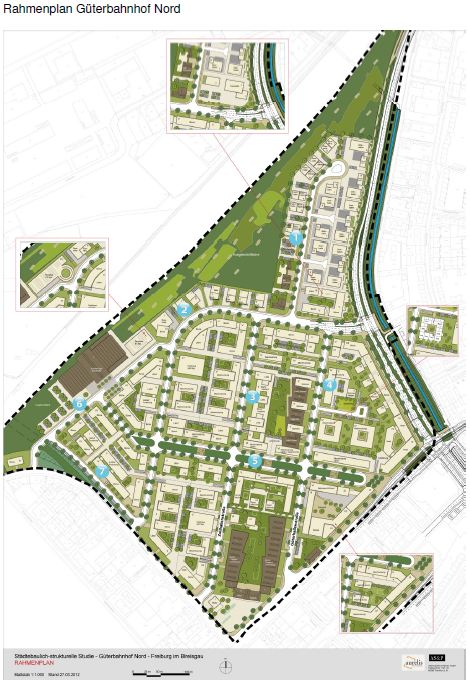 Rahmenplan Güterbahnhof Nord - Anlage zu Drs. KA-12_015
